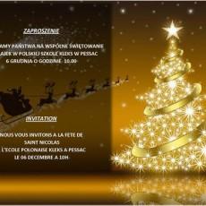 ZAPROSZENIE-INVITATION Mikolaj-StNicolas