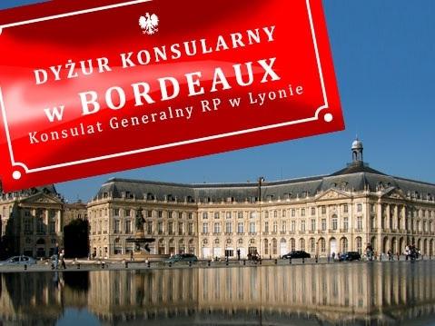 Permanence consulaire bordeaux les polonais de for Chambre consulaire lyon